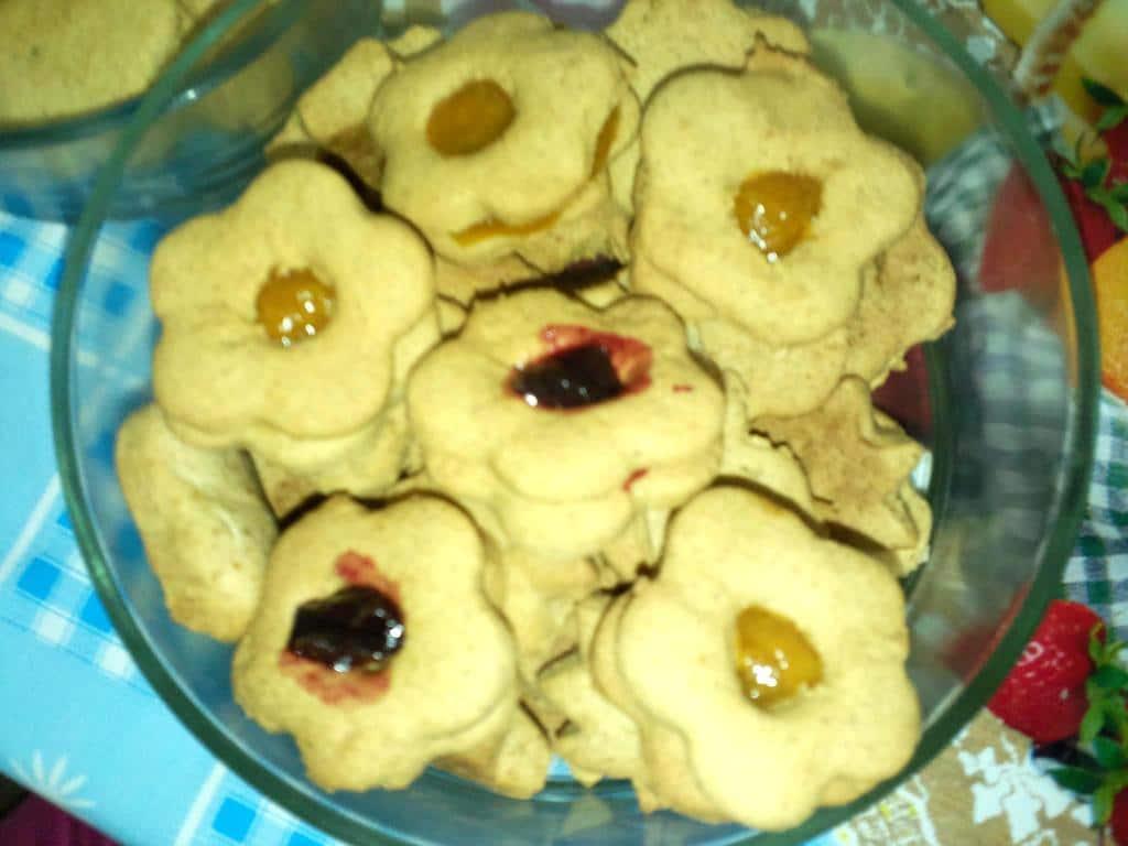 עוגיות כתר ריבה
